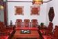 缅甸鸡翅木沙发11件套